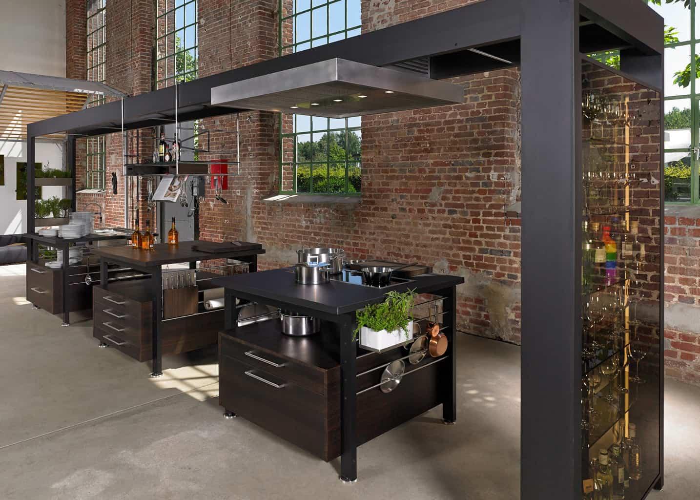 kitchen stations layout