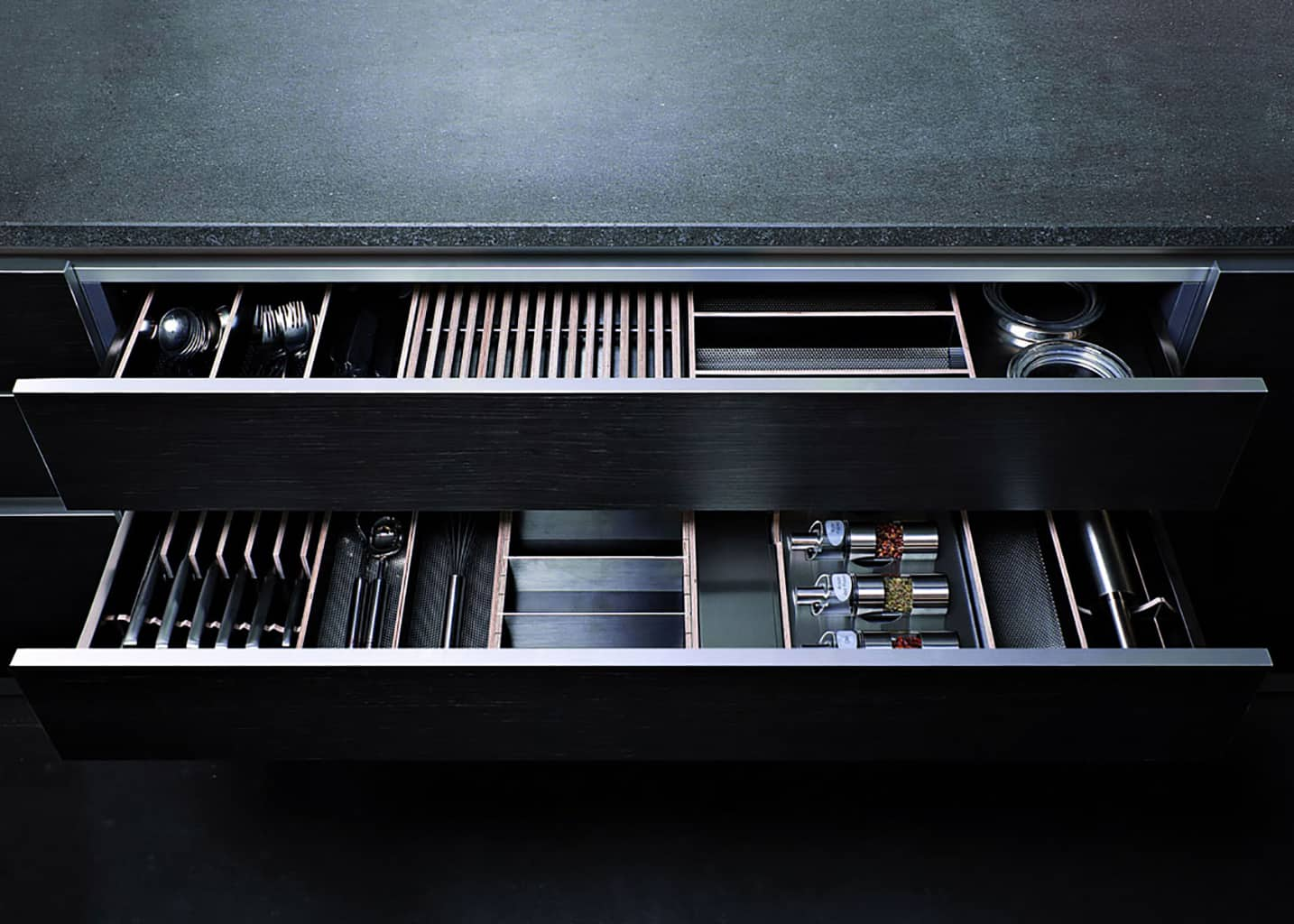 kitchen drawer organizer